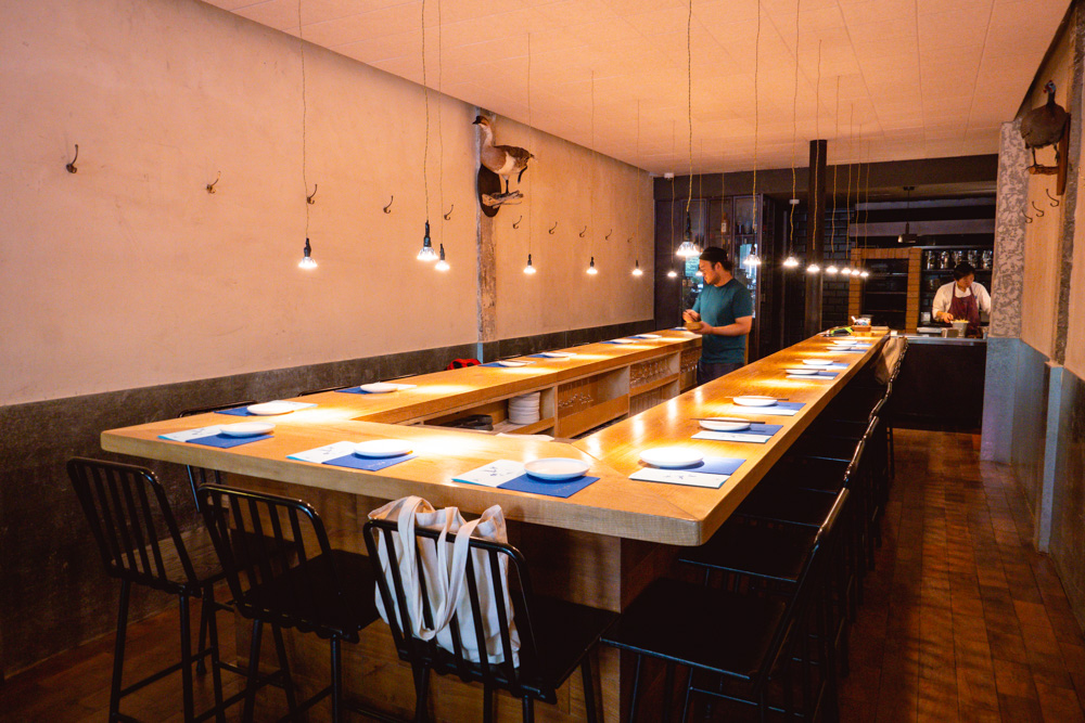 Oha Eatery, a restaurant in Shanghai that specializes in experimental Guizhou food.