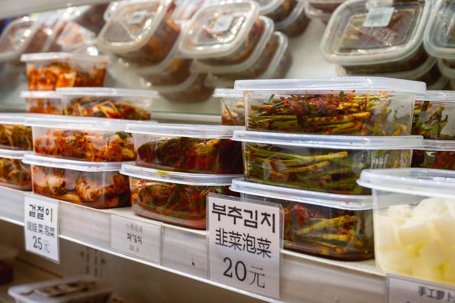 Kimchi. Where to eat in Shanghai's Koreatown. Photo by Rachel Gouk @ Nomfluence.