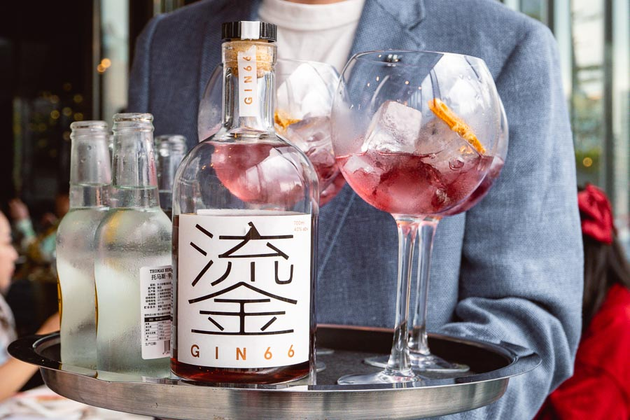 Gin 66, W Shanghai's own craft gin. Photo by Rachel Gouk @ Nomfluence.