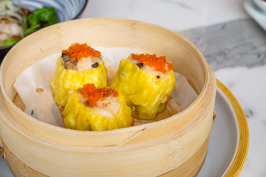 Shu mai. All-you-can-eat dim sum brunch at YEN Chinese restaurant, W Shanghai. Photo by Rachel Gouk @ Nomfluence.