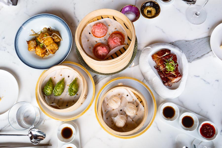 All-you-can-eat dim sum brunch at YEN Chinese restaurant, W Shanghai. Photo by Rachel Gouk @ Nomfluence.