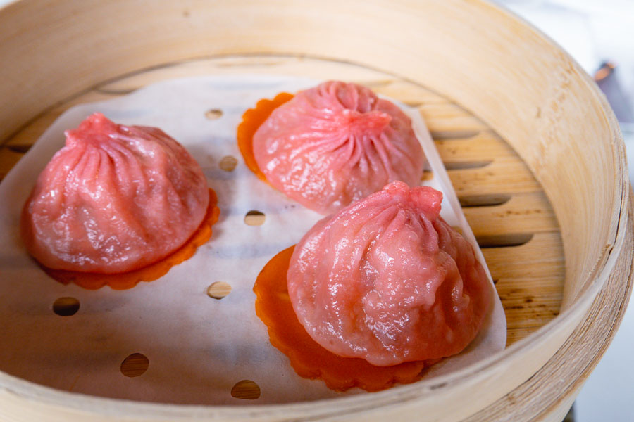 Xiaolongbao. All-you-can-eat dim sum brunch at YEN Chinese restaurant, W Shanghai. Photo by Rachel Gouk @ Nomfluence.