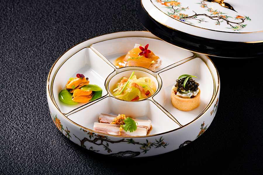 Michelin one-star Chinese restaurant Amazing Chinese Cuisine, Shanghai.