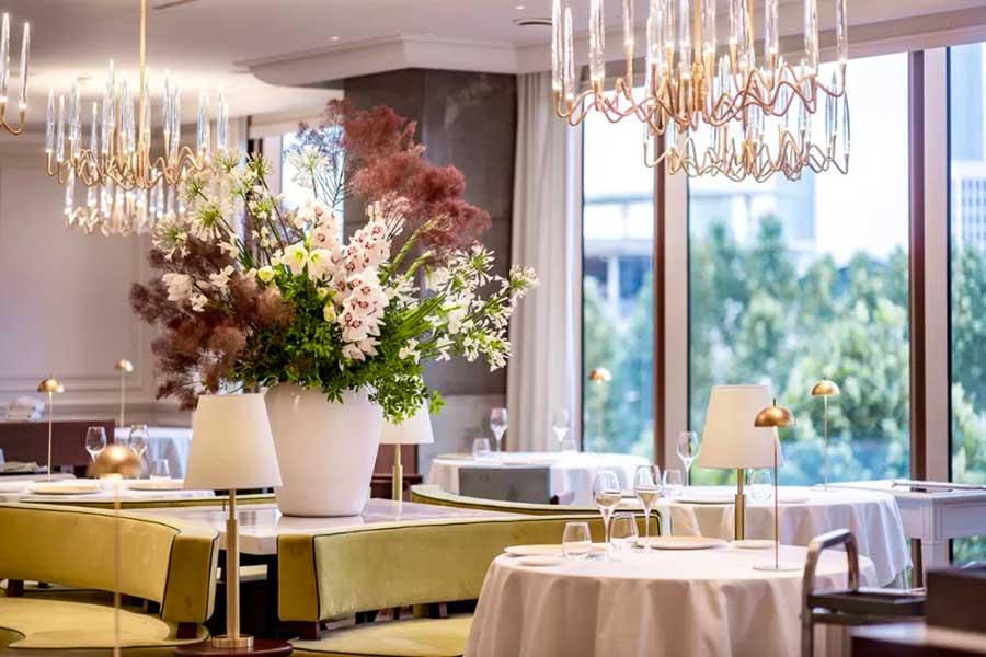 Michelin two-star luxe Italian restaurant Da Vittorio Shanghai.