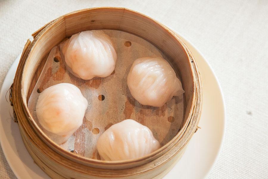 Dim sum at Imperial Treasure, a Michelin two-star restaurant in Shanghai. Photo by Rachel Gouk @ Nomfluence.
