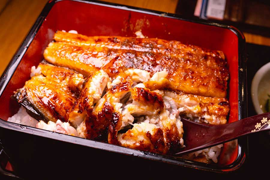 Where to eat unagi don in Shanghai—Japanese eel rice at Manzhong. Photo by Rachel Gouk @ Nomfluence
