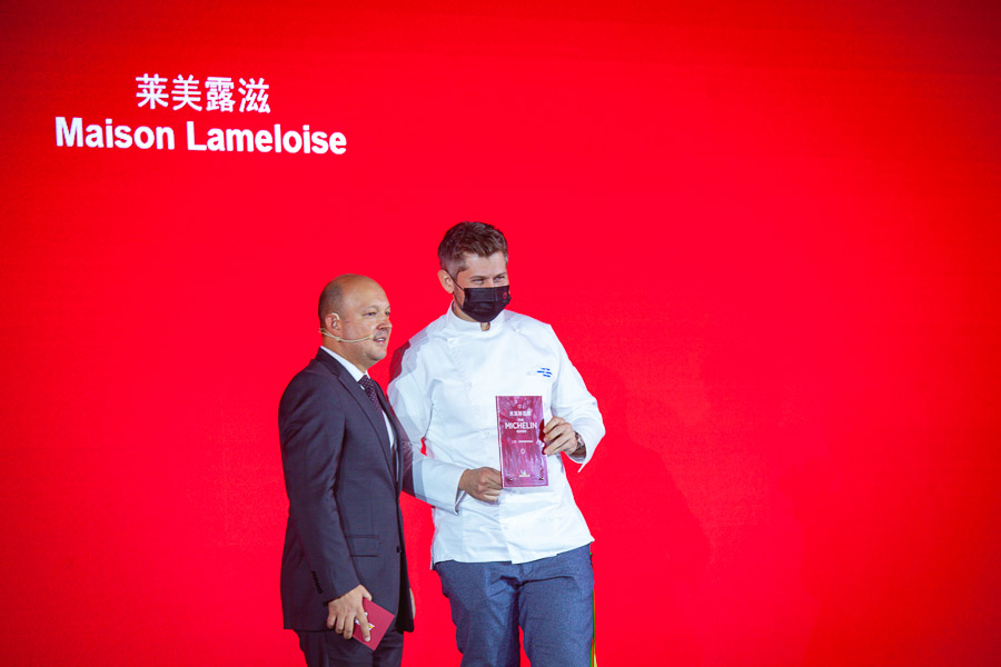 Maison Lameloise, Michelin one-star restaurant in Shanghai. Michelin Guide Shanghai 2021 — 43 restaurants in Shanghai awarded Michelin stars at the fifth edition of the guide. Photo by Rachel Gouk @ Nomfluence.