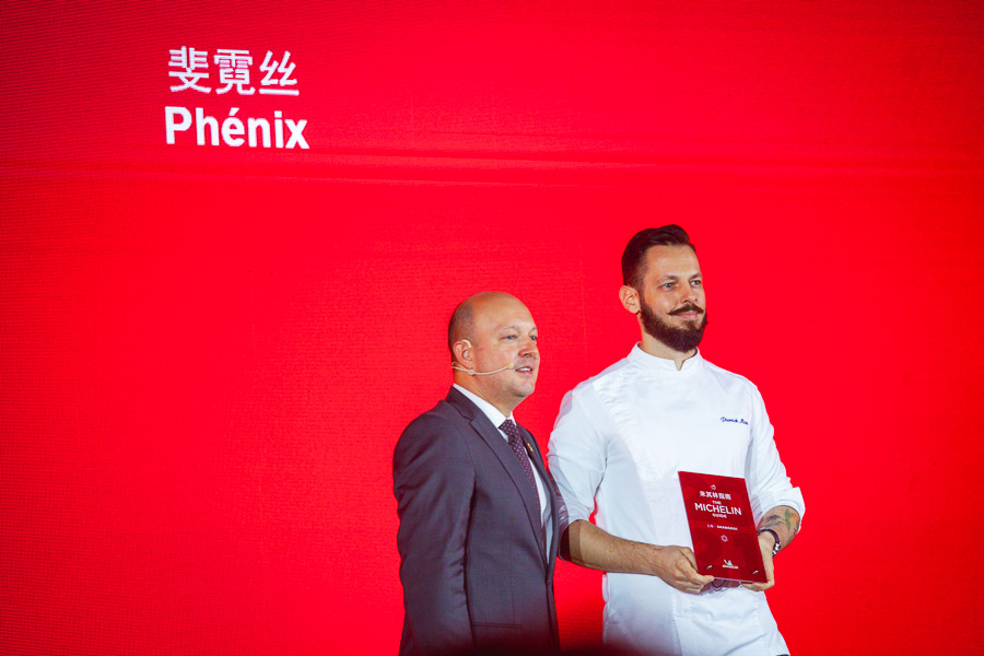 Phenix, Michelin one-star restaurant in Shanghai. Michelin Guide Shanghai 2021 — 43 restaurants in Shanghai awarded Michelin stars at the fifth edition of the guide. Photo by Rachel Gouk @ Nomfluence.