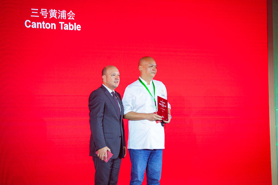 Canton Table, Michelin 1-star restaurant in Shanghai. Michelin Guide Shanghai 2021 — 43 restaurants in Shanghai awarded Michelin stars at the fifth edition of the guide. Photo by Rachel Gouk @ Nomfluence.