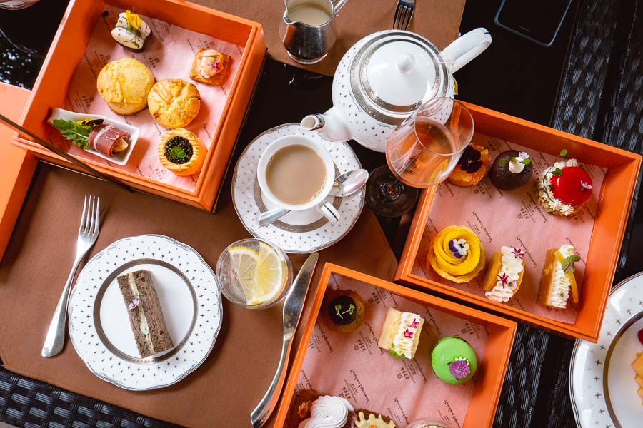 Afternoon tea at Xijiao State Guest Hotel, Shanghai. Photo by Rachel Gouk @ Nomfluence.