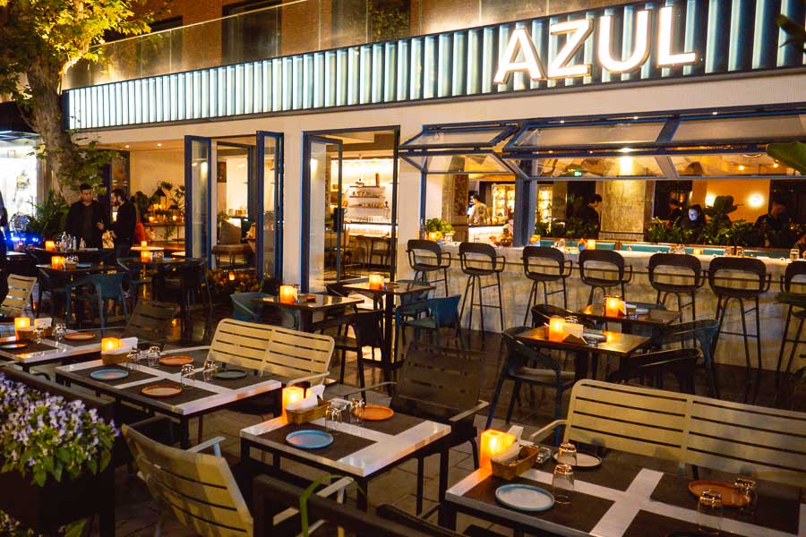 Azul is a Latin American restaurant in Shankang Li, Shanghai. Photo by Rachel Gouk @ Nomfluence.