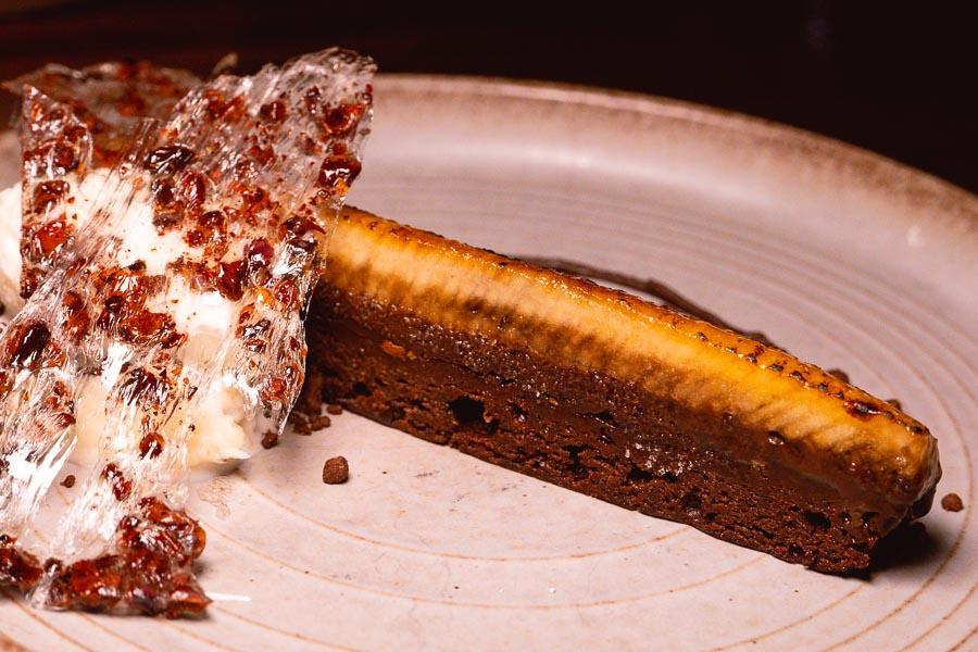 Dessert at Azul, a Latin American restaurant in Shanghai by chef Eduardo Vargas. Photo by Rachel Gouk @ Nomfluence.