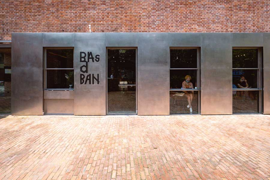 Basdban is a design-forward cafe and bakery on Yuyuan Lu in Shanghai. Photo by Rachel Gouk @ Nomfluence.