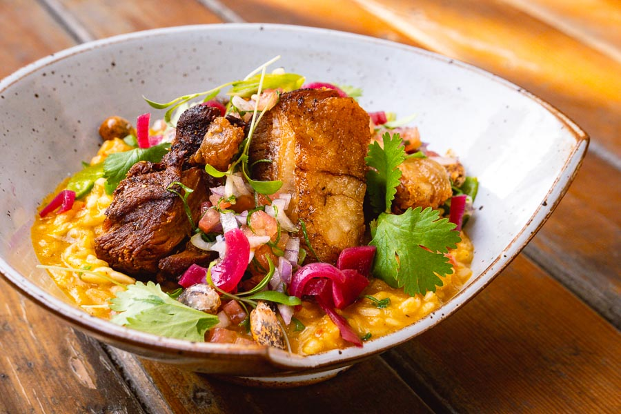 Peruvian-inspired food by Chef Carlos Sotomayor. Pop-up at Mikkeller Shanghai. Photo by Rachel Gouk @ Nomfluence.