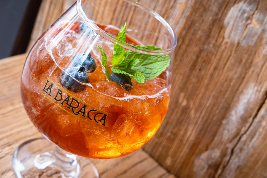 Spritz at La Baracca, an Italian cafe on Yongkang Lu, Shanghai. Photo by Rachel Gouk @ Nomfluence.