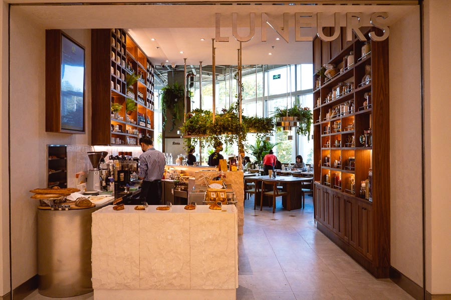 Popular Shanghai bakery and ice cream shop Luneurs opens a sixth location in One ITC. Photo by Rachel Gouk @ Nomfluence.