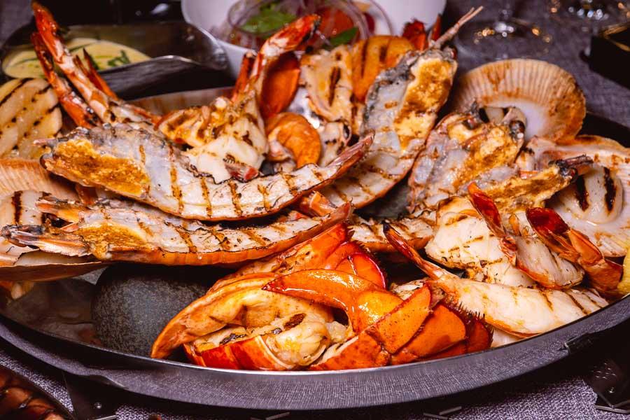 Seafood at Mr & Mrs Bund. Photo by Rachel Gouk @ Nomfluence.