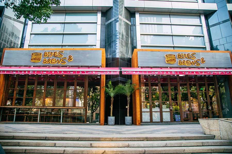 Bites & Brews, sandwiches and brunch in Shanghai.