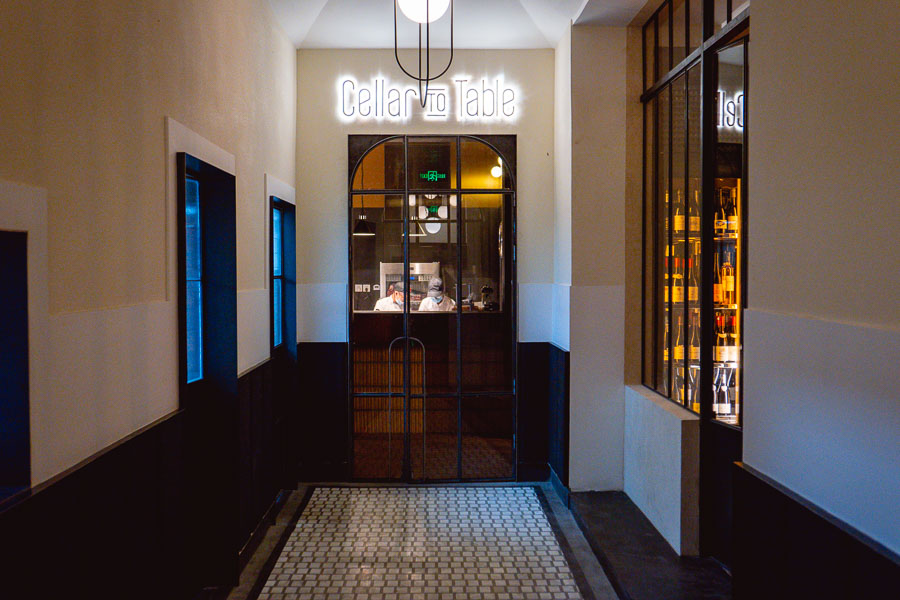 Cellar To Table, a Mediterranean restaurant and wine bar in Shanghai. Photo by Rachel Gouk @ Nomfluence.