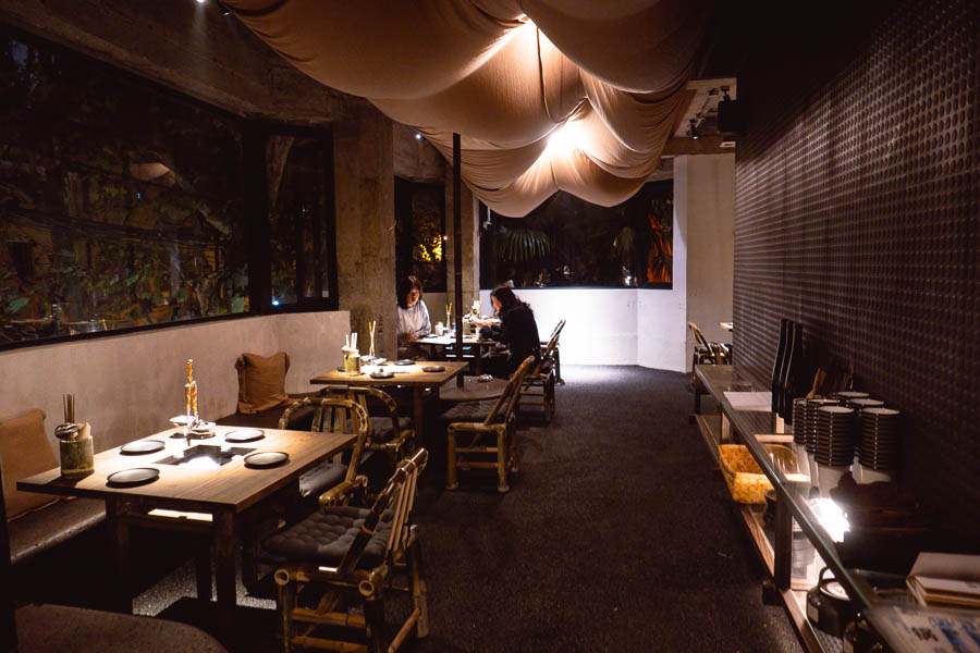 Maolago is a restaurant and bar in Shanghai that serves contemporary Guizhou food and wine. Photo by Rachel Gouk @ Nomfluence.