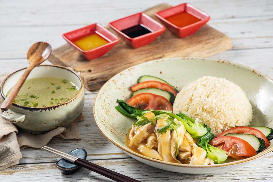 Southeast Asian food at Portman's Restaurant, Portman Ritz-Carlton Shanghai.