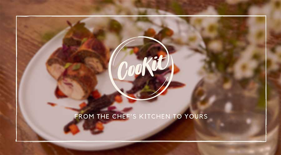 CooKit, a community driven meal kit curated by Shanghai chefs.