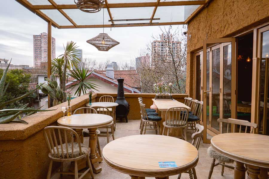 Bandit opens second restaurant/bar on Julu Road in Shanghai. Rooftop terraces, barbecue and drinks. Photo by Rachel Gouk @ Nomfluence