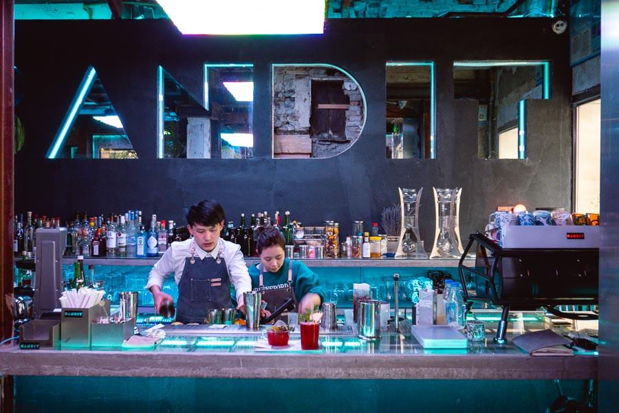 Bandit opens second location on Julu Road in Shanghai. Rooftop terraces, barbecue and drinks. Photo by Rachel Gouk @ Nomfluence