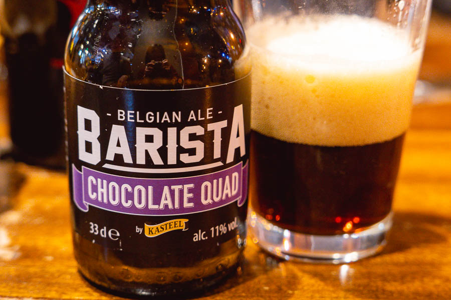 Barista Chocolate Quad at Beer Lady, Shanghai's Biggest Beer Market, Beermart. Photo by Rachel Gouk @ Nomfluence.