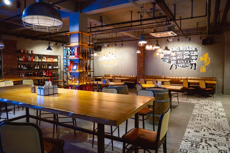 Bubba's Food Co, a restaurant for American barbecue in Shanghai. Photo by Rachel Gouk @ Nomfluence
