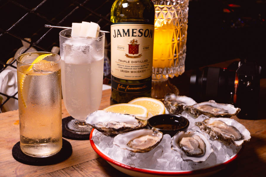 Shanghai bars for cocktails and oysters. Bord Bia and Jameson. Photo by Rachel Gouk @ Nomfluence.