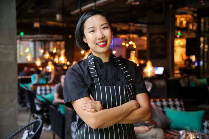Kelley Lee, co-founder of Boxing Cat Brewery and Liquid Laundry, Shanghai chef and restaurateur.