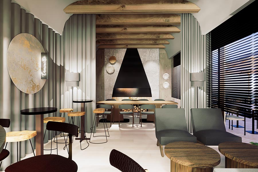 Caminetto Italian restaurant by Chef Kelvin Chai. Located in Xintiandi, Shanghai.  @ Nomfluence