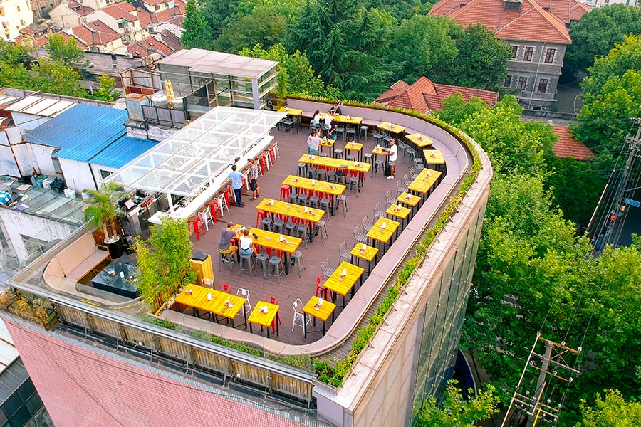 Best happy hours and terraces in Shanghai. @ Nomfluence