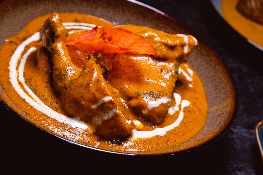 Butter chicken. Khan Chacha, modern Indian restaurant in Shanghai. Photo by Rachel Gouk @ Nomfluence.