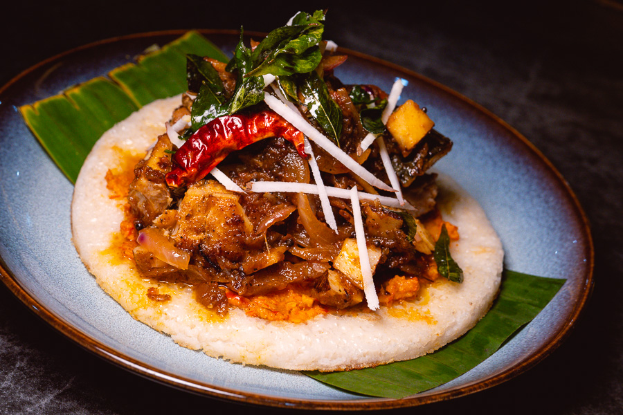 Dosa. Khan Chacha, modern Indian restaurant in Shanghai. Photo by Rachel Gouk @ Nomfluence.