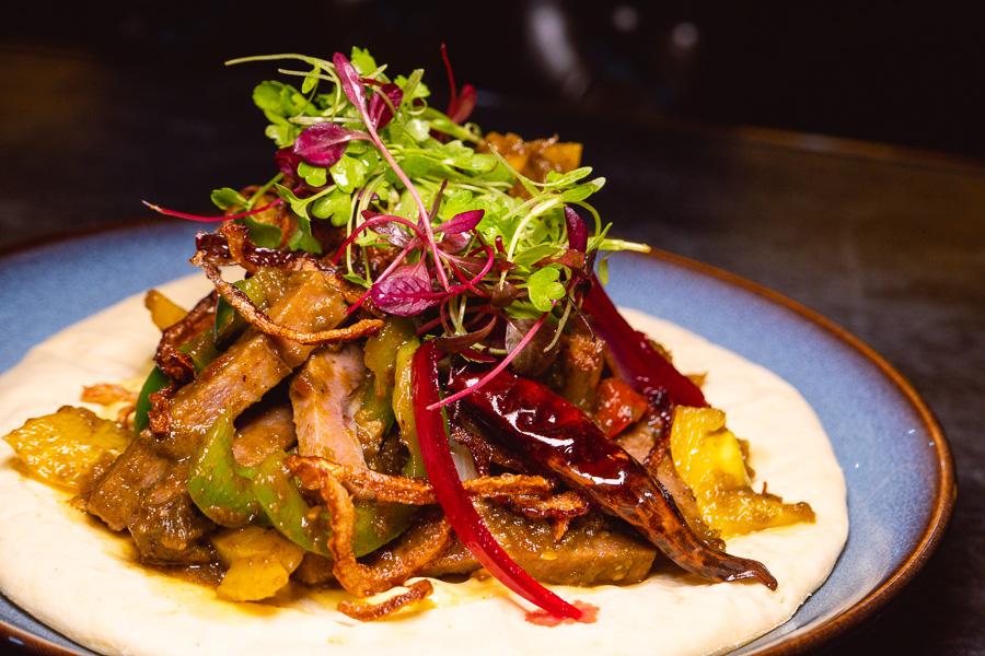 Beef tongue taco. Khan Chacha, modern Indian restaurant in Shanghai. Photo by Rachel Gouk @ Nomfluence.