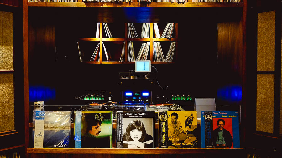 Root Down is a cocktail bar in Shanghai that does excellent drinks and plays vinyl.  @ Nomfluence.