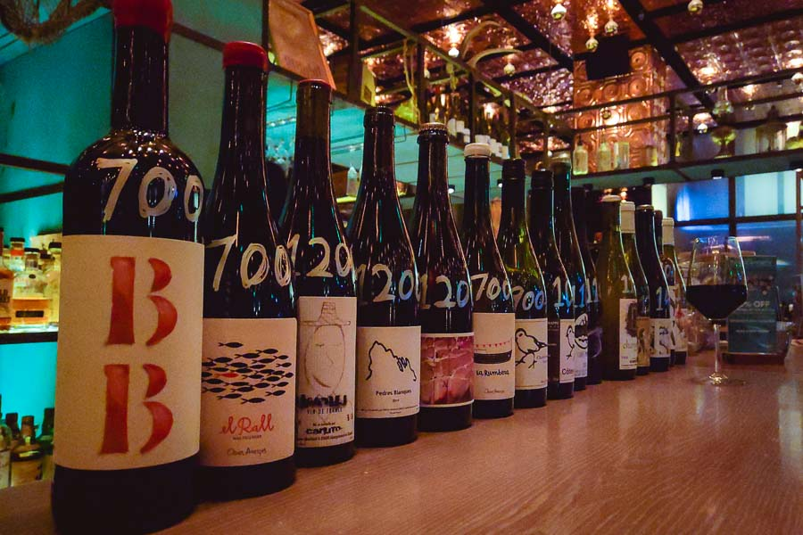 Bottles of half-off wine at Cannery's Uncorked Thursdays in Shanghai. Photo by Rachel Gouk @ Nomfluence.