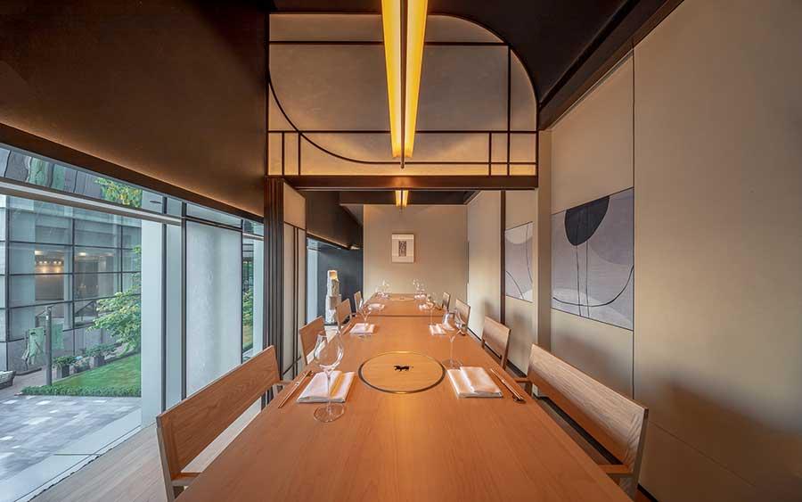 Ember Shanghai, is a high-end Japanese restaurant that does niku kappo omakase, beef omakase. @ Nomfluence