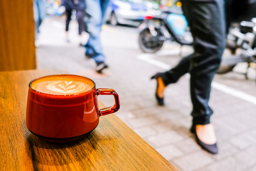 Escape cafe. Cafes and coffee shops in Shanghai. Photo by Rachel Gouk @ Nomfluence.