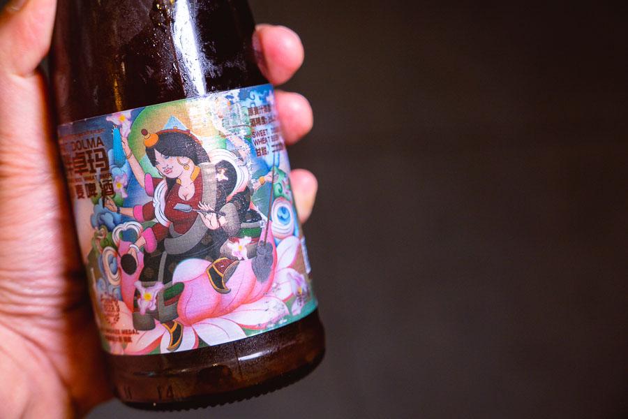 Shangri-la Brewery beers at Ronglek, a cheap Yunnan restaurant in Shanghai. Photo by Rachel Gouk @ Nomfluence.