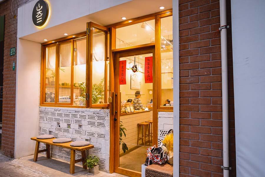 Sansan coffee. Cafes and coffee shops in Shanghai. Photo by Rachel Gouk @ Nomfluence.