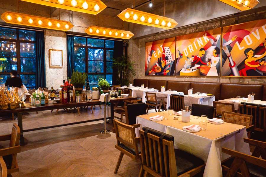 Italo Trattoria is a casual Italian restaurant in Jing'an, Shanghai. Photo by Rachel Gouk @ Nomfluence.