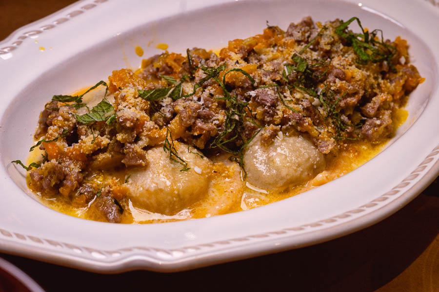 Lamb ravioli. Italo Trattoria is a casual Italian restaurant in Jing'an, Shanghai. Photo by Rachel Gouk @ Nomfluence.