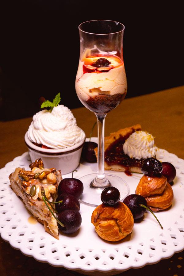 Dessert at Italo Trattoria, a casual Italian restaurant in Jing'an, Shanghai. Photo by Rachel Gouk @ Nomfluence.