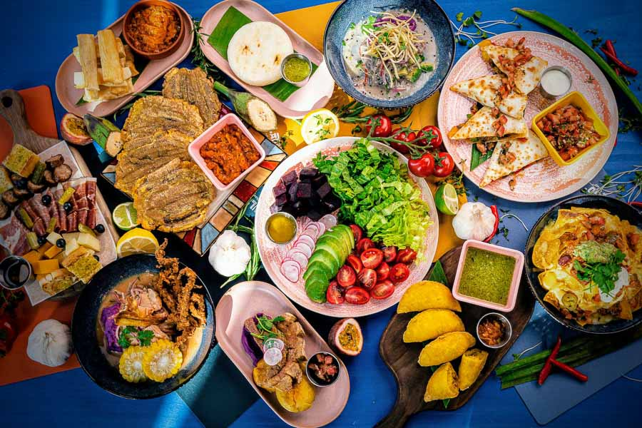LatinLand is a restaurant, lounge and club in Jing'an, Shanghai serving Latin and Colombian food.