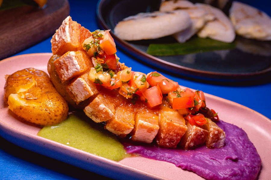 Chicharron. LatinLand is a restaurant, lounge and club in Jing'an, Shanghai serving Latin and Colombian food. Photo by Rachel Gouk @ Nomfluence.