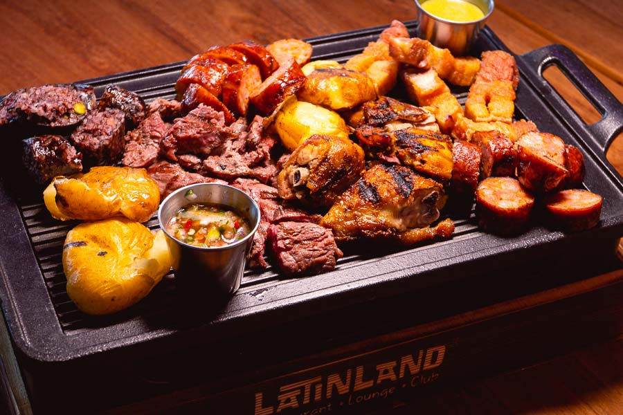 Picada meat platter. LatinLand is a restaurant, lounge and club in Jing'an, Shanghai serving Latin and Colombian food. Photo by Rachel Gouk @ Nomfluence.