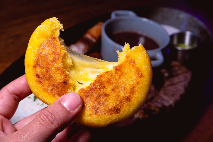 Arepas. LatinLand is a restaurant, lounge and club in Jing'an, Shanghai serving Latin and Colombian food. Photo by Rachel Gouk @ Nomfluence.